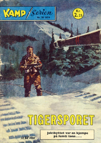Cover for Kamp-serien (1964 series) #30/1974
