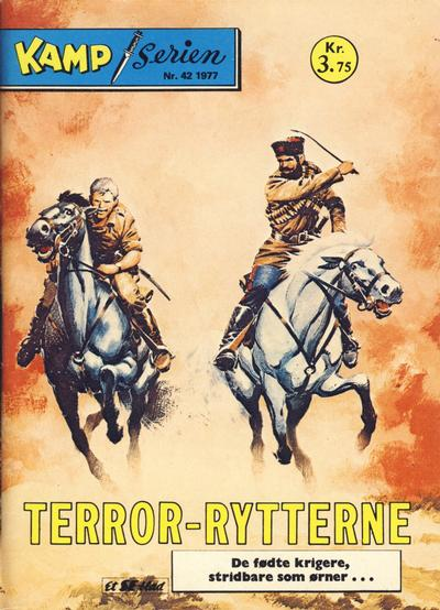 Cover for Kamp-serien (Se-Bladene, 1964 series) #42/1977