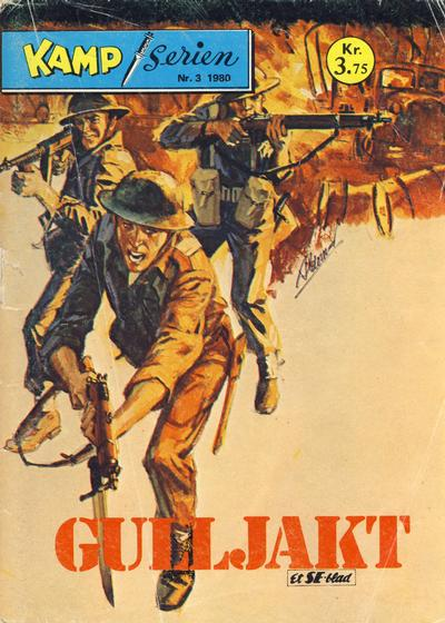 Cover for Kamp-serien (1964 series) #3/1980