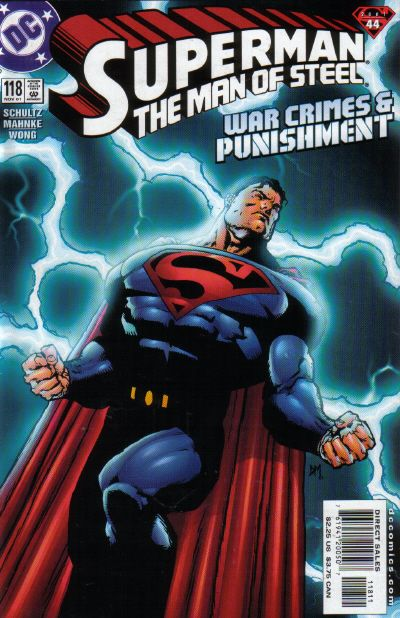 Cover for Superman: The Man of Steel (DC, 1991 series) #118