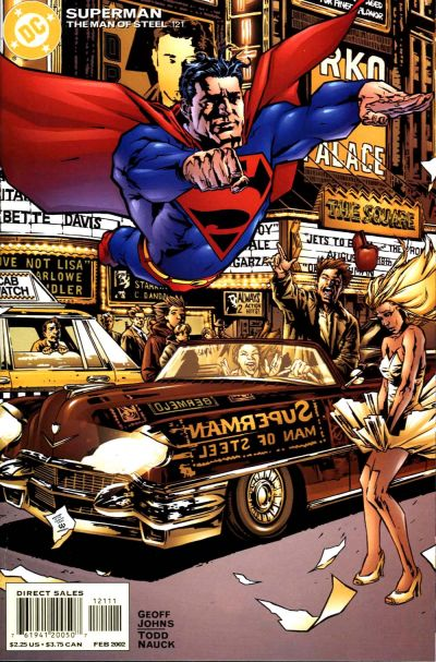 Cover for Superman: The Man of Steel (DC, 1991 series) #121