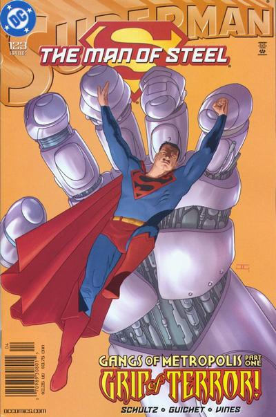 Cover for Superman: The Man of Steel (1991 series) #123