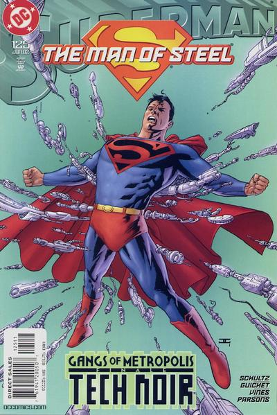 Cover for Superman: The Man of Steel (1991 series) #125