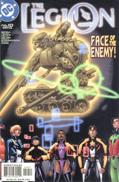 Cover for The Legion (DC, 2001 series) #10