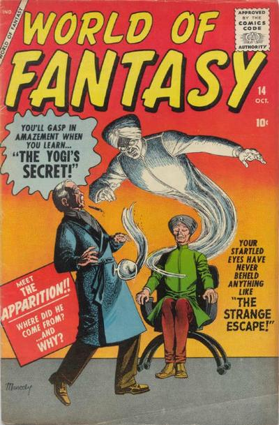 Cover for World of Fantasy (Marvel, 1956 series) #14
