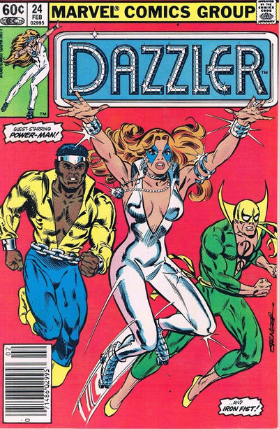 Cover for Dazzler (Marvel, 1981 series) #24 [Direct Edition]
