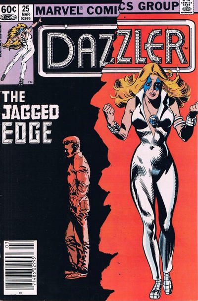 Cover for Dazzler (Marvel, 1981 series) #25 [Direct Edition]