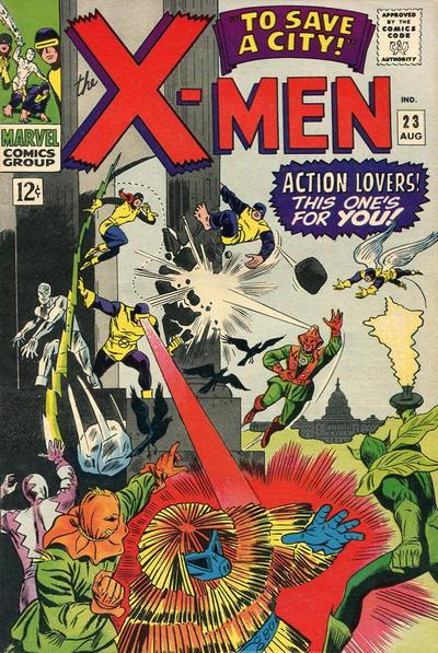 Cover for The X-Men (Marvel, 1963 series) #23 [Regular Edition]