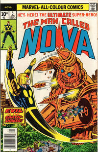 Cover Thumbnail for Nova (Marvel, 1976 series) #5 [British Price Variant]