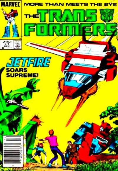 Cover for The Transformers (Marvel, 1984 series) #11 [Direct Edition]