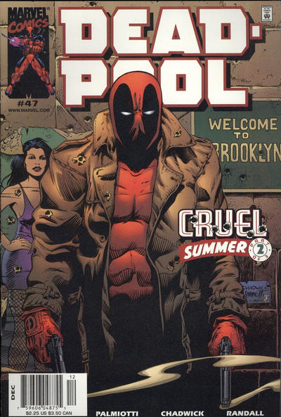 Cover for Deadpool (Marvel, 1997 series) #47 [Direct Edition]
