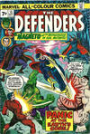 Cover Thumbnail for The Defenders (1972 series) #15 [British Price Variant]