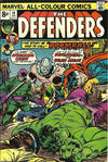 Cover Thumbnail for The Defenders (1972 series) #19 [British Price Variant]