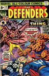 Cover Thumbnail for The Defenders (1972 series) #20 [British Price Variant]