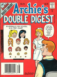 Cover Thumbnail for Archie's Double Digest Magazine (Archie, 1984 series) #78