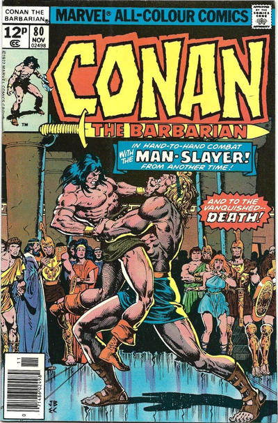 Cover for Conan the Barbarian (Marvel, 1970 series) #80 [Regular Edition]