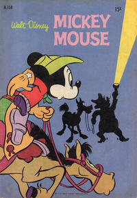 Cover Thumbnail for Walt Disney's Mickey Mouse (W. G. Publications; Wogan Publications, 1956 series) #158