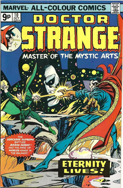 Cover for Doctor Strange (Marvel, 1974 series) #10