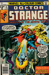 Cover for Doctor Strange (Marvel, 1974 series) #27 [British Price Variant]