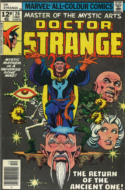 Cover for Doctor Strange (Marvel, 1974 series) #26 [Regular Edition]