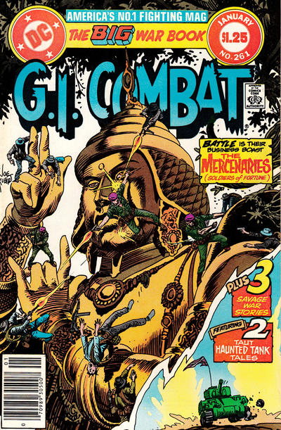 Cover for G.I. Combat (DC, 1957 series) #261 [Direct-Sales]
