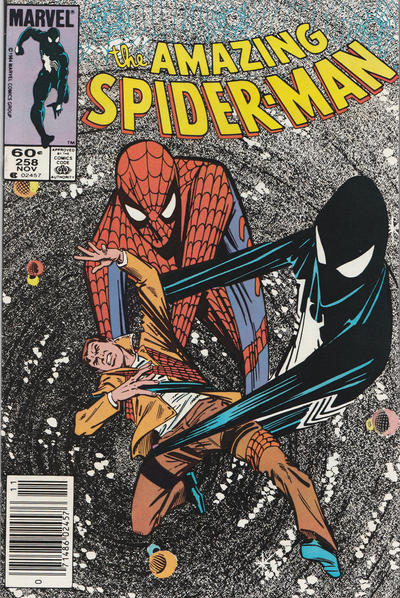 Cover for The Amazing Spider-Man (Marvel, 1963 series) #258 [Direct Edition]
