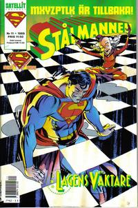 Cover Thumbnail for Stålmannen (SatellitFörlaget, 1988 series) #11/1989