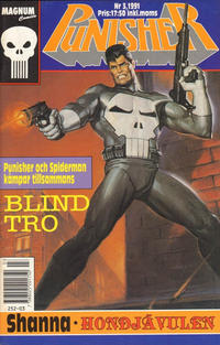 Cover Thumbnail for Punisher (Atlantic Förlags AB; Pandora Press, 1991 series) #3/1991
