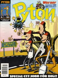 Cover Thumbnail for Pyton (Atlantic Förlags AB, 1990 series) #1/1991