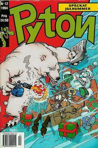 Cover Thumbnail for Pyton (Atlantic Förlags AB, 1990 series) #12/1994