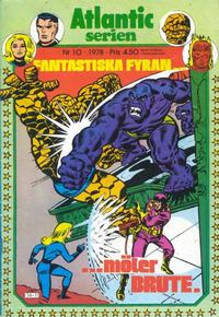 Cover Thumbnail for Atlanticserien (Atlantic Förlags AB, 1978 series) #10/1978