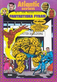 Cover Thumbnail for Atlanticserien (Atlantic Förlags AB, 1978 series) #11/1978