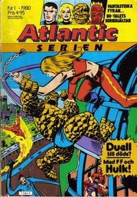 Cover Thumbnail for Atlanticserien (Atlantic Förlags AB, 1978 series) #1/1980