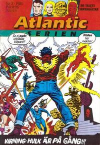 Cover Thumbnail for Atlanticserien (Atlantic Förlags AB, 1978 series) #2/1980