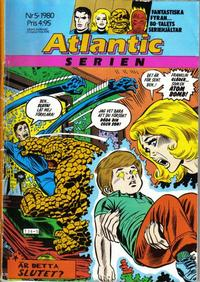 Cover Thumbnail for Atlanticserien (Atlantic Förlags AB, 1978 series) #5/1980