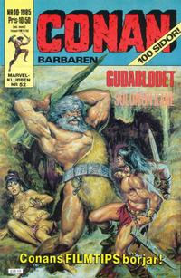 Cover Thumbnail for Conan (Semic, 1984 series) #10/1985