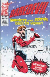 Cover Thumbnail for Daredevil (Semic, 1986 series) #9/1986
