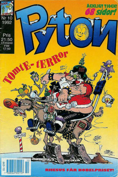 Cover for Pyton (1990 series) #10/1992