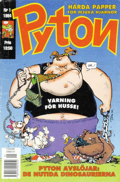 Cover for Pyton (1990 series) #1/1994