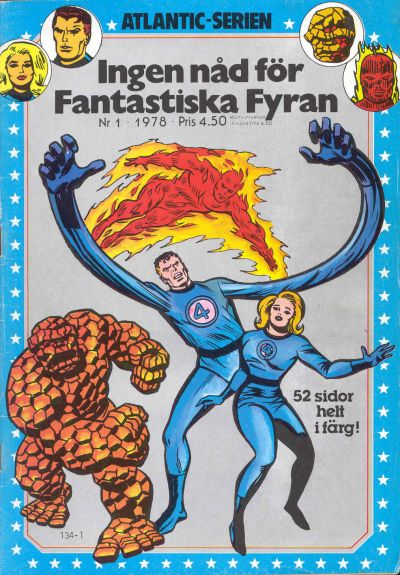 Cover for Atlanticserien (Atlantic Förlags AB, 1978 series) #1/1978
