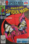 Cover for The Amazing Spider-Man (Marvel, 1963 series) #223 [British Price Variant]