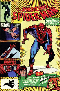 Cover Thumbnail for The Amazing Spider-Man (Marvel, 1963 series) #259 [Direct Edition]