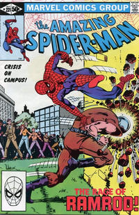 Cover Thumbnail for The Amazing Spider-Man (Marvel, 1963 series) #221 [Direct Edition]