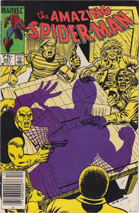 Cover for The Amazing Spider-Man (Marvel, 1963 series) #247 [Direct Edition]