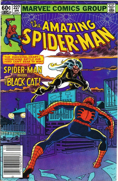Cover for The Amazing Spider-Man (Marvel, 1963 series) #227 [Direct Edition]