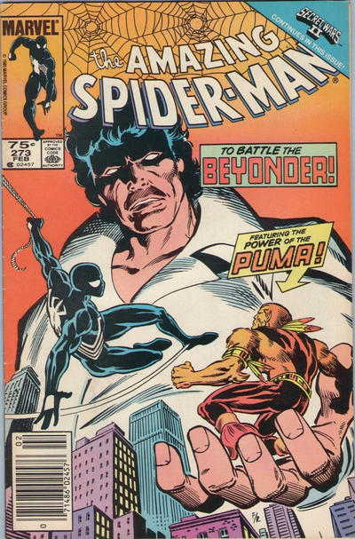 Cover for The Amazing Spider-Man (Marvel, 1963 series) #273 [Direct Edition]