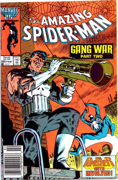 Cover for The Amazing Spider-Man (Marvel, 1963 series) #285 [Direct Edition]