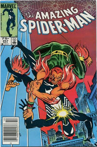 Cover for The Amazing Spider-Man (Marvel, 1963 series) #257 [Direct Edition]