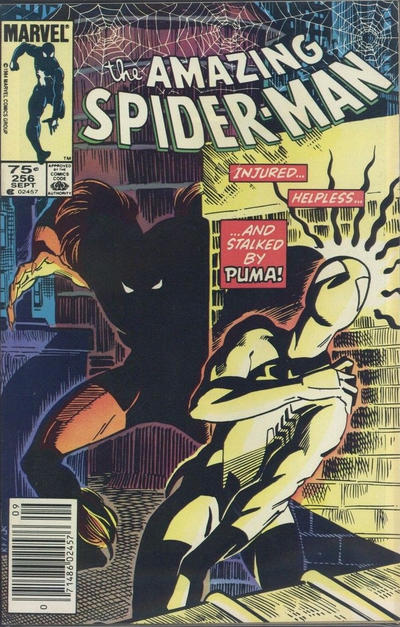 Cover for The Amazing Spider-Man (Marvel, 1963 series) #256 [Newsstand Edition]