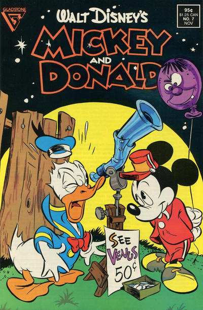 Cover for Walt Disney's Mickey and Donald (Gladstone, 1988 series) #7 [Direct]